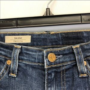 Ag Adriano Goldschmied Jeans - AG Adriano Goldschmied The Stilt Jeans Cigarette